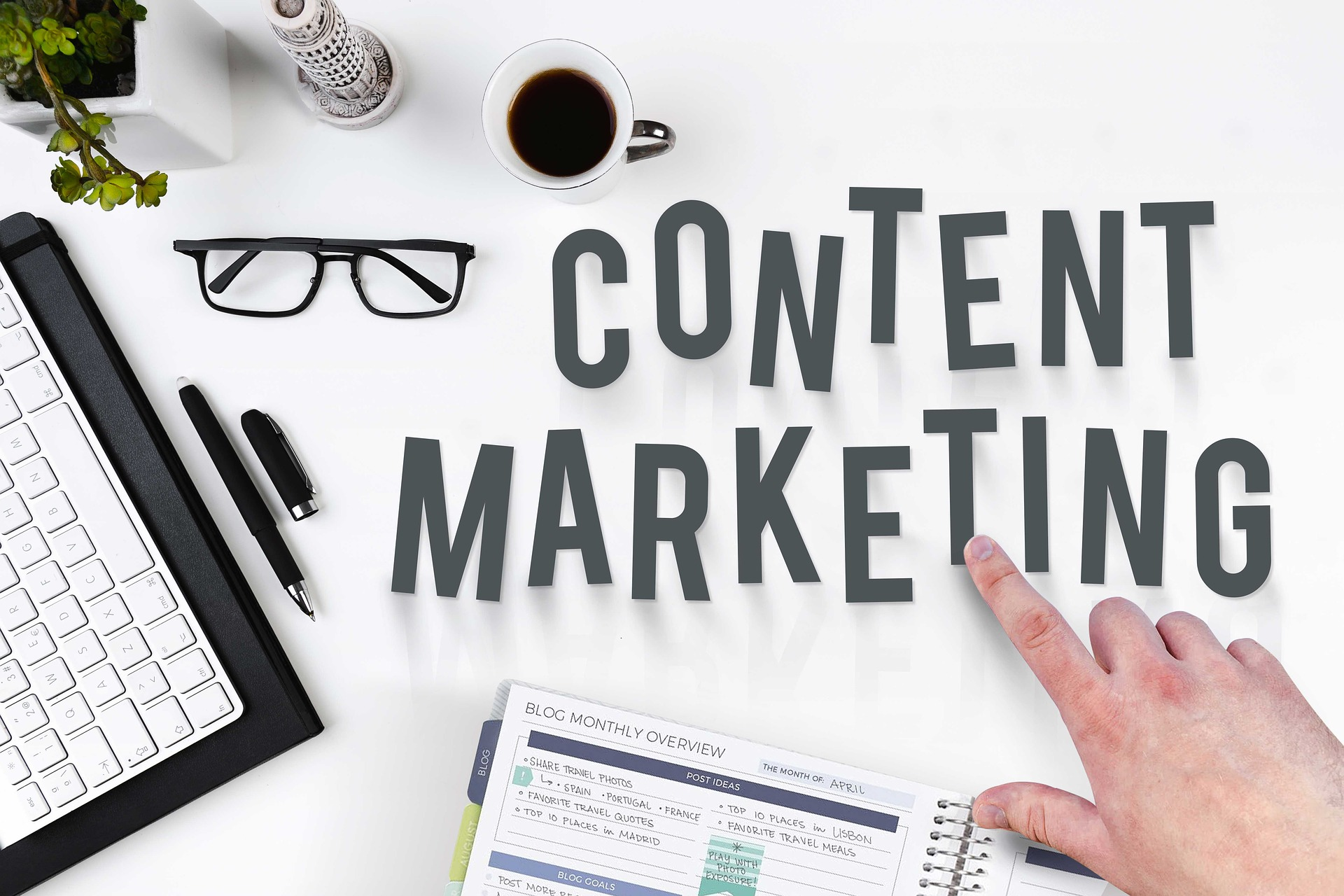 Your go-to guide on content marketing – 5 stages explained (with examples)